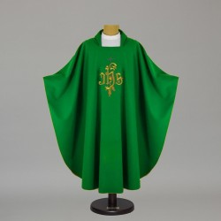 Gothic Chasuble 12574 - Green  - 1