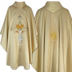 Gothic Chasuble 12575 - Gold