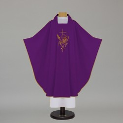 Gothic Chasuble 5114 - Purple