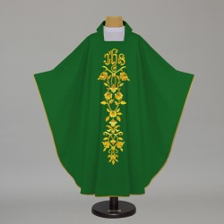 Gothic Chasuble 12582 - Green  - 1