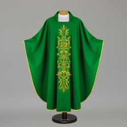Gothic Chasuble 12583 - Green