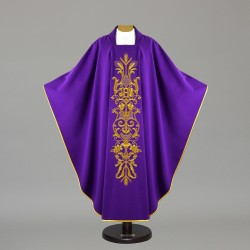 Gothic Chasuble 12584 - Purple