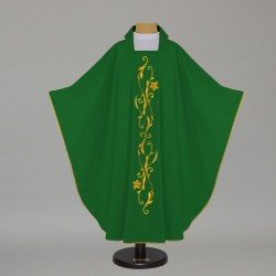 Gothic Chasuble 7540 - Green