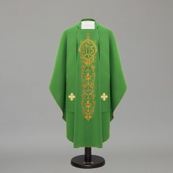 Gothic Chasuble 12588 - Green