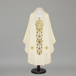 Gothic Chasuble 12589 - Cream