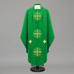 Gothic Chasuble 12591 - Green