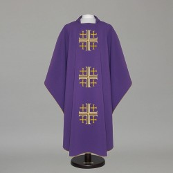Gothic Chasuble 12592 - Purple