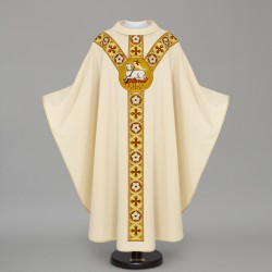 Gothic Chasuble 12608 - Cream