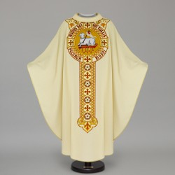 Gothic Chasuble 12609 - Cream