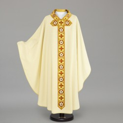 Gothic Chasuble 12610 - Cream