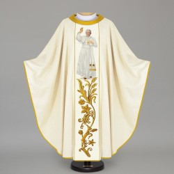 Gothic Chasuble 12620 - Cream