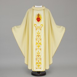 Gothic Chasuble 12628 - Cream