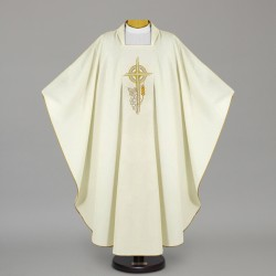 Gothic Chasuble 12630 - Cream