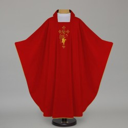Gothic Chasuble 12631 - Red