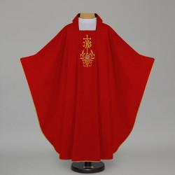 Gothic Chasuble 12635 - Red