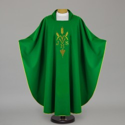 Gothic Chasuble 12642 - Green