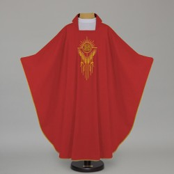 Gothic Chasuble 12647 - Red