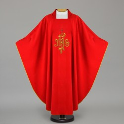 Gothic Chasuble 12649 - Red