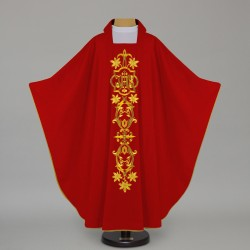 Gothic Chasuble 12651 - Red