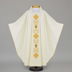 Gothic Chasuble 12658 - Cream