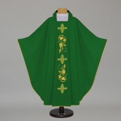 Gothic Chasuble 12663 - Green