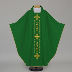 Gothic Chasuble 12664 - Green