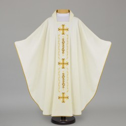 Gothic Chasuble 12665 - Cream