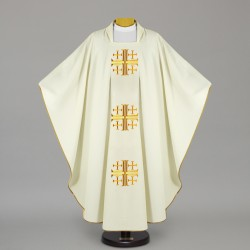 Gothic Chasuble 12670 - Cream
