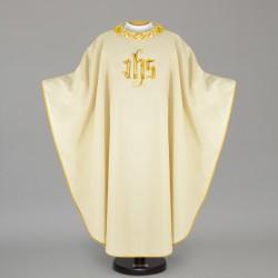 Gothic Chasuble 12671 - Cream