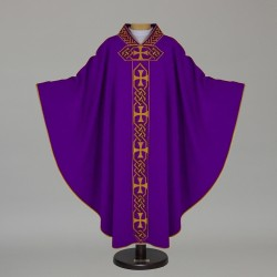 Gothic Chasuble 12688 - Purple