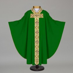 Gothic Chasuble 12690 - Green