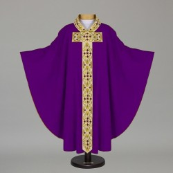 Gothic Chasuble 12691 - Purple