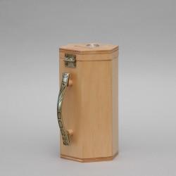 Light Wood Money Collection Box 12708
