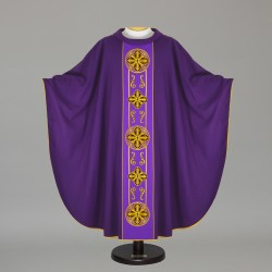 Gothic Chasuble 4414 - Purple