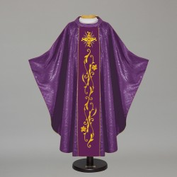 Gothic Chasuble 5499 - Purple