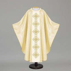 Gothic Chasuble 12713 - Cream