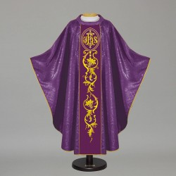 Gothic Chasuble 12716 - Purple