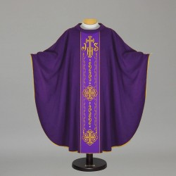 Gothic Chasuble 12719 - Purple