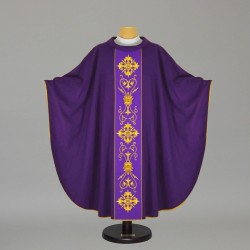 Gothic Chasuble 7528 - Purple