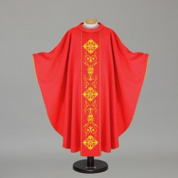 Gothic Chasuble 12722 - Red
