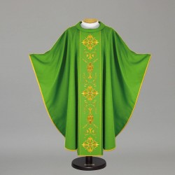 Gothic Chasuble 12723 - Green
