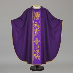 Gothic Chasuble 12725 - Purple