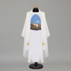 Gothic Chasuble 12727 - Cream