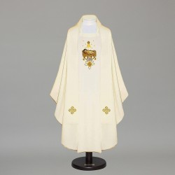 Gothic Chasuble 12728 - Cream