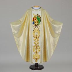 Gothic Chasuble 12729 - Cream  - 1