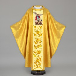 Gothic Chasuble 12805 - Gold  - 1