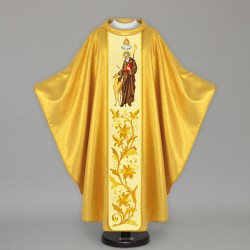 Gothic Chasuble 12807 - Gold