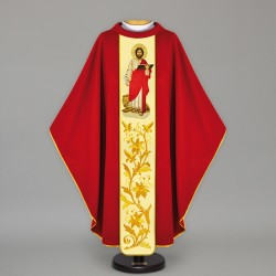 Gothic Chasuble 12811 - Red