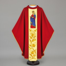 Gothic Chasuble 12812 - Red