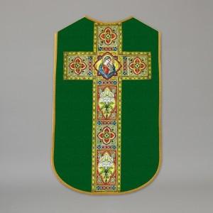 Printed Roman Chasuble 4532 - Green  - 1